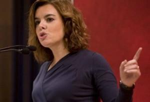 Soraya Saenz de Santamaria 300x203 - Se creará un único órgano administrativo para gestionar el Patrimonio Inmobiliario