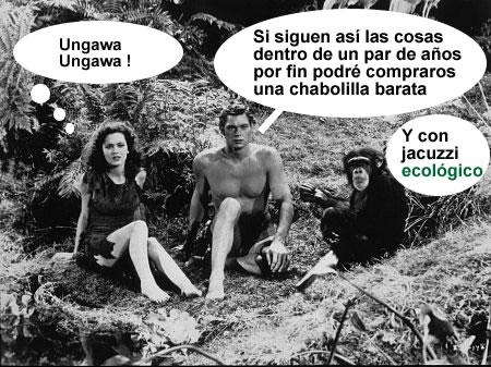 Tarzan Cheetah jpg cha - El 71,4% de los españoles que buscan piso aún quiere comprar