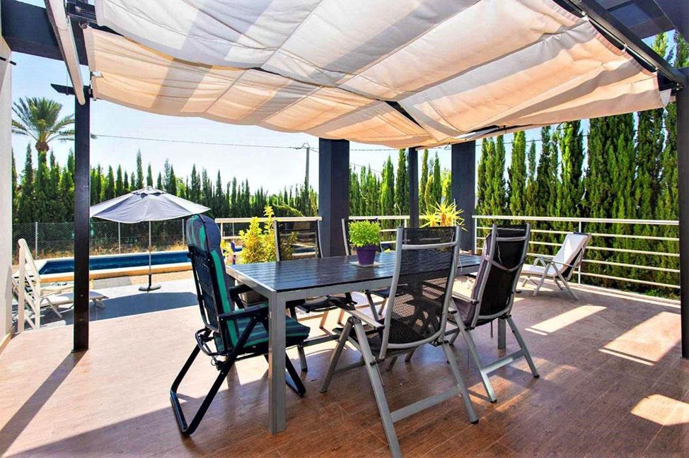 Terraza 48 - Disfruta de los jardines, piscina y tranquilidad de esta casa individual en Alicante