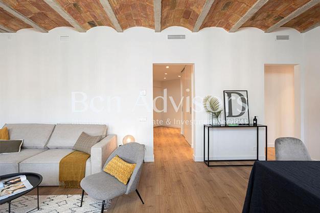 VOLTA - Este piso en venta en Barcelona con elementos de diseño únicos te enamorará