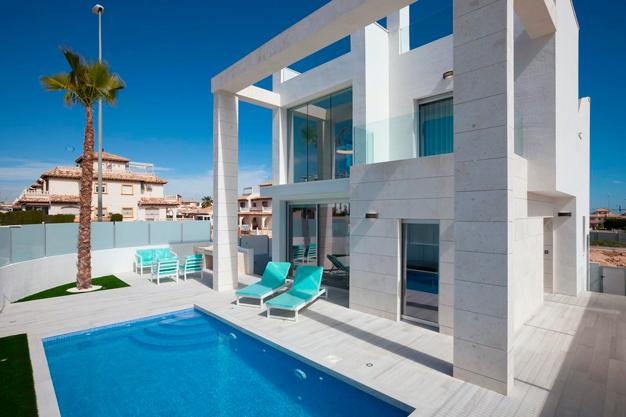 Villa exclusiva en Alicante junto a la playa - Villa exclusiva en Alicante junto a la playa
