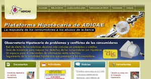 adicae 300x157 - ADICAE lanza una web para denunciar abusos hipotecarios