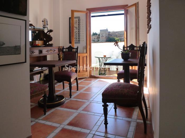 albaycin granada - Casas de otoño: terrazas, jardines, rincones llenos de encanto y calidez otoñal