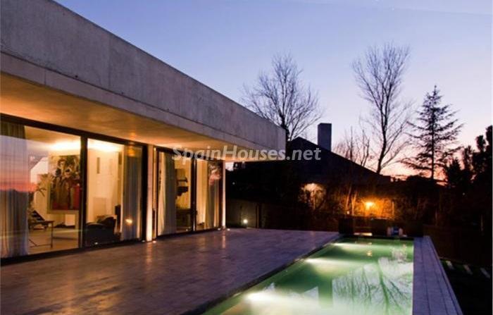 algete madrid - Noches de verano en 18 casas de ensueño: diseño bajo las estrellas para relajarse y disfrutar