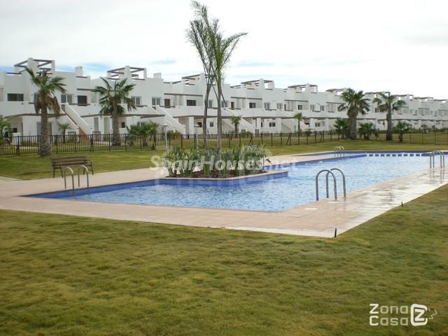 alhamademurcia - 15 bonitos pisos de 3 dormitorios con jardines y piscina por menos de 150.000 euros