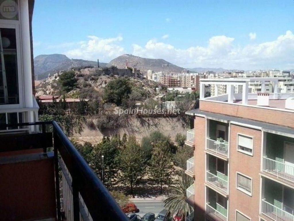 Vistas desde un piso en alquiler en Cartagena (Murcia)