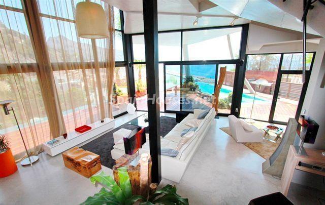 altea alicante 8 - 10 fantásticos salones modernos que se abren a la terraza, a la piscina o al mar