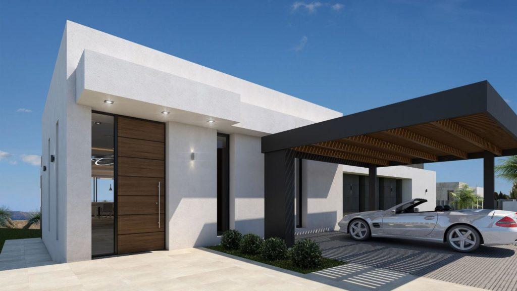 aparcamiento 1024x576 - A la venta una de las villas más espectaculares de Alicante con increíbles vistas al mar