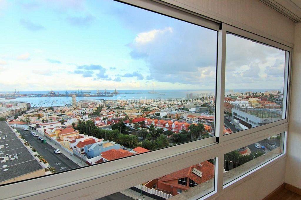Vistas desde un apartamento en alquiler las Palmas de Gran Canaria (Canarias)