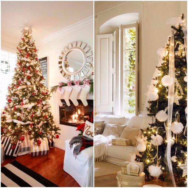 arbol 600x600 - Guía para decorar tu casa al estilo de ¡Oh, Blanca Navidad!