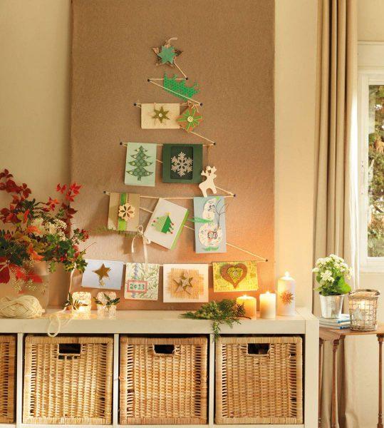 arbol de navidad hecho con cuerdas 354326 bbac8bd4 1078x1200 539x600 - Inspírate con estos árboles de Navidad y decora tu árbol perfecto