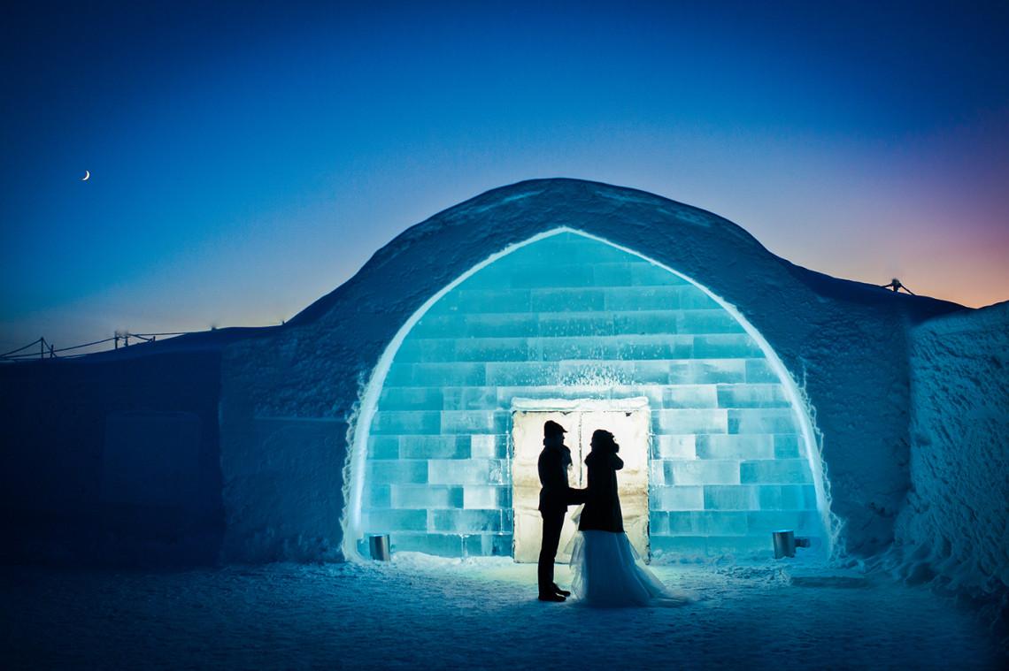 arctic winter wedding icehotel 1140x759 - Los mejores hoteles para los verdaderos amantes del invierno