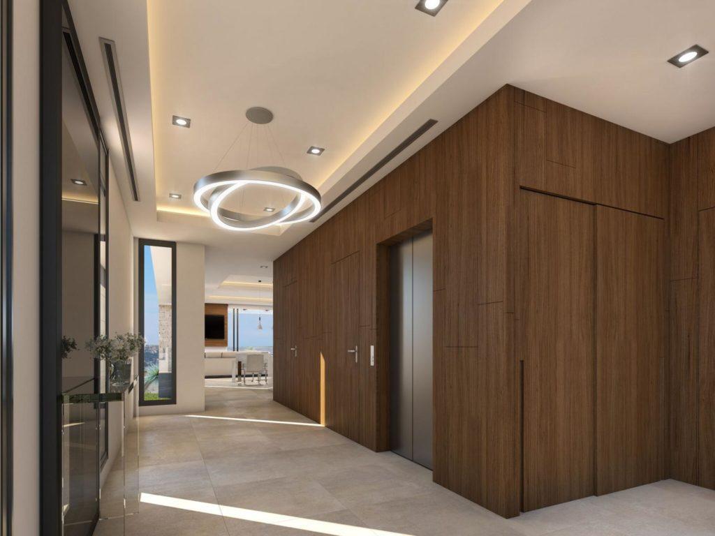 ascensor 2 1024x768 - A la venta una de las villas más espectaculares de Alicante con increíbles vistas al mar
