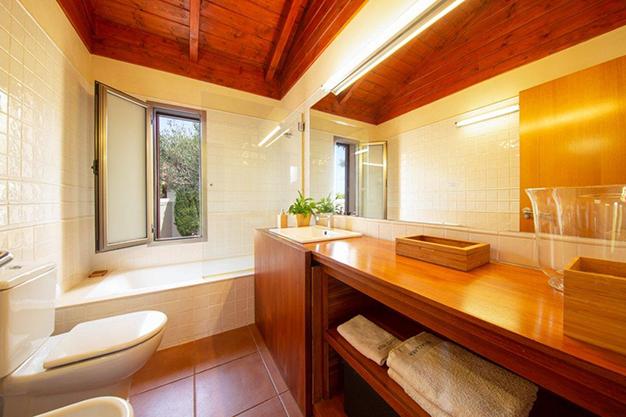 baño 1 3 - Villa con vistas al mar en Tenerife: una casa de ensueño
