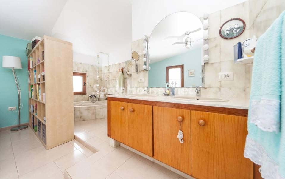 baño 26 - Sabor canario en una fantástica casa con piscina y jardin en Arona (Tenerife)
