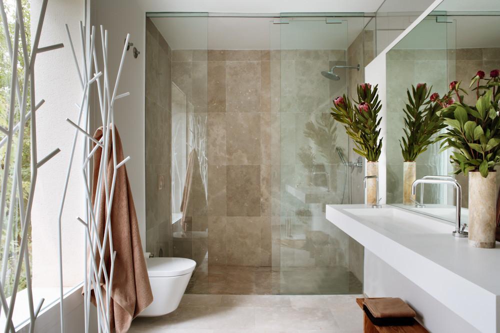 baño 30 - Diseño contemporáneo y luz otoñal en una preciosa casa en Madrid