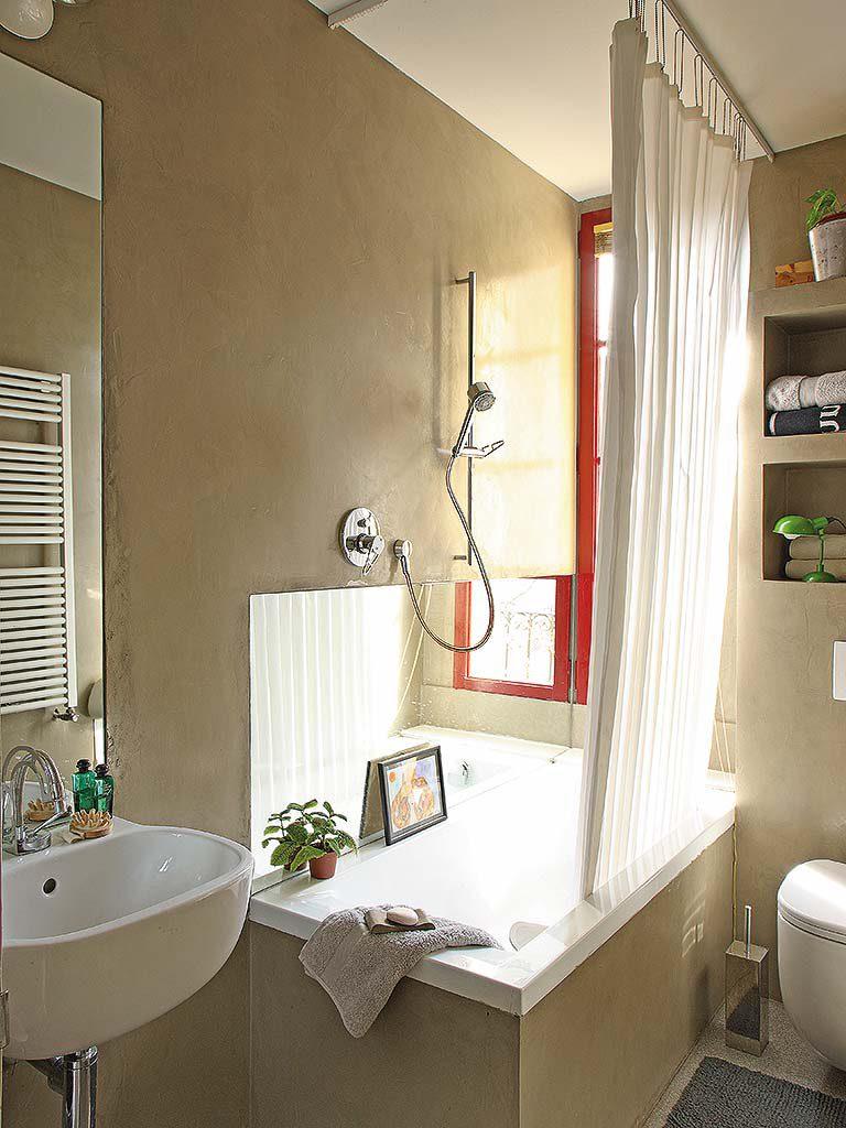 baño 34 768x1024 - De garaje a original casa en Barcelona: luminosa y llena de encanto vintage