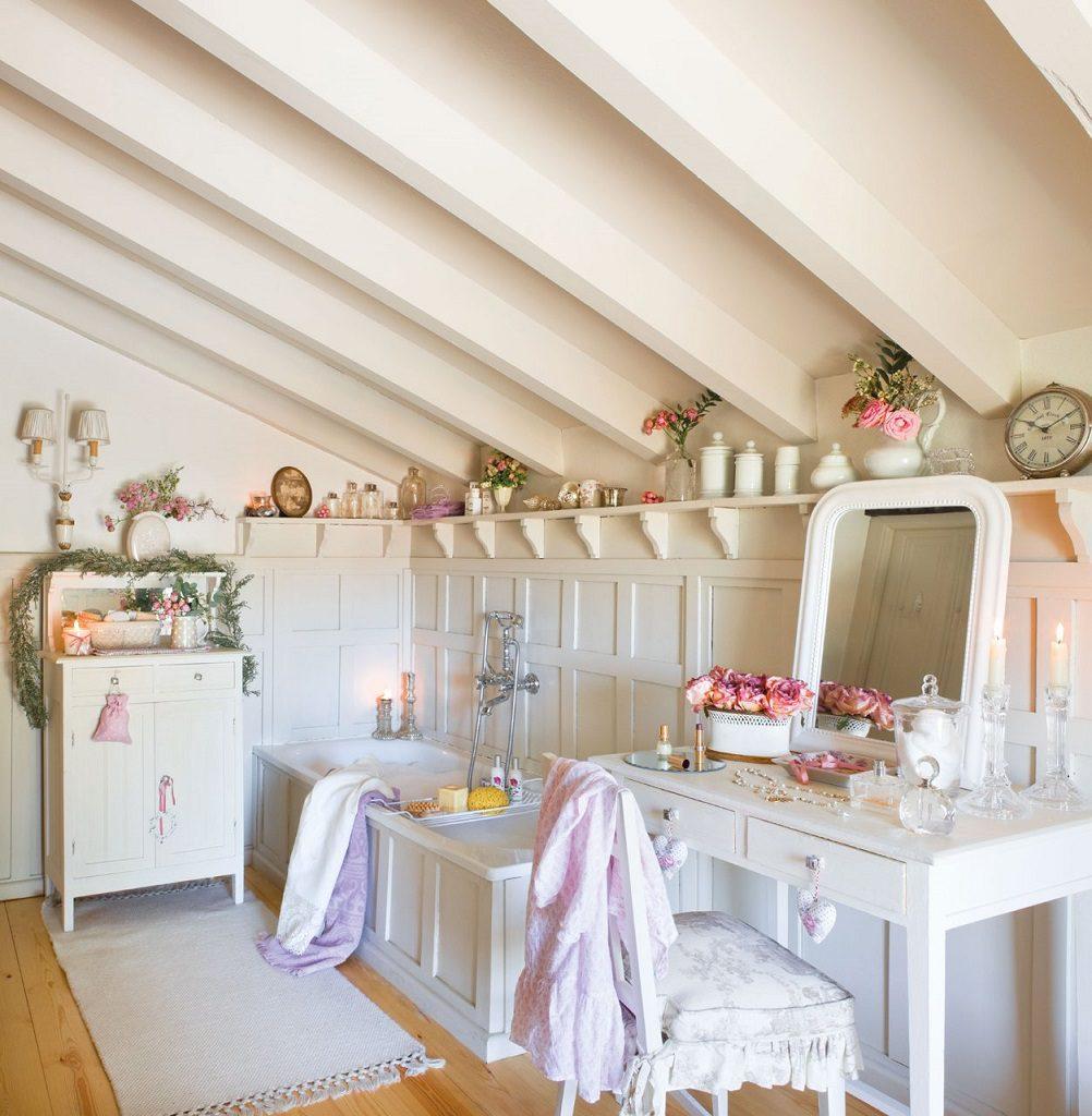 baño 41 1002x1024 - Nochevieja y Año Nuevo en una casa perfecta para una fiesta campestre y romántica