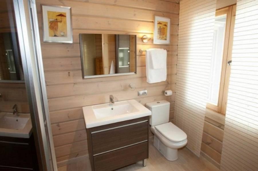 baño 48 - Sobre dos mares: Toque escandinavo en una casa de madera en Tarifa (Cádiz)