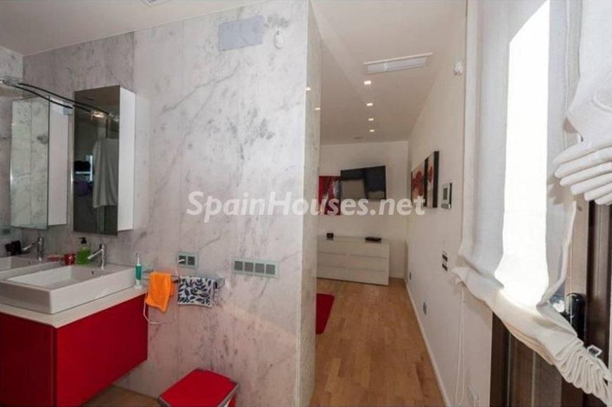 baño 6 - Lujo entre dos mares: Casa en primerísima línea de playa en La Manga del Mar Menor (Murcia)