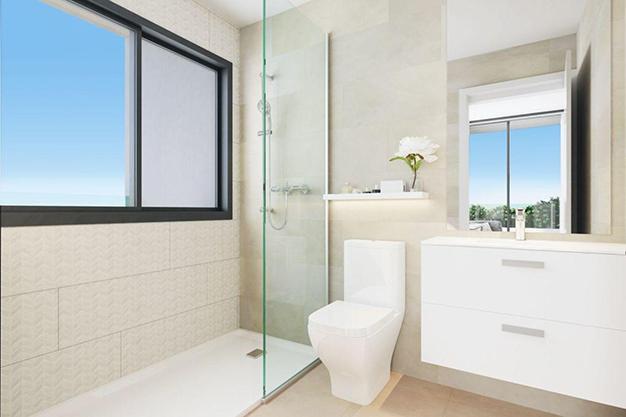 baño 67 - Espectacular chalet adosado en Fuengirola: altas calidades, terrazas y jardín
