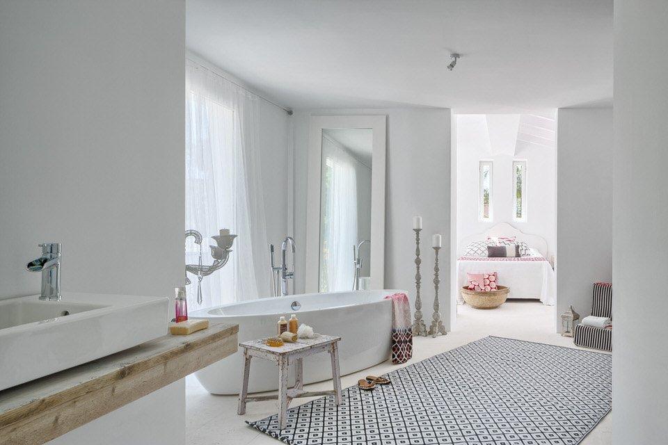 baño1 19 - Serenidad minimalista y mediterránea en una genial casa en Sotogrande (Cádiz)