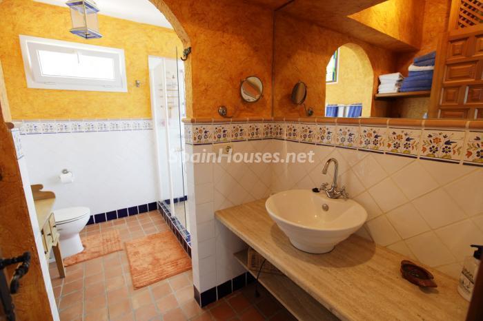 baño1 - Casa de la Semana: Fantástica villa en La Herradura, Almuñécar (Costa Tropical)