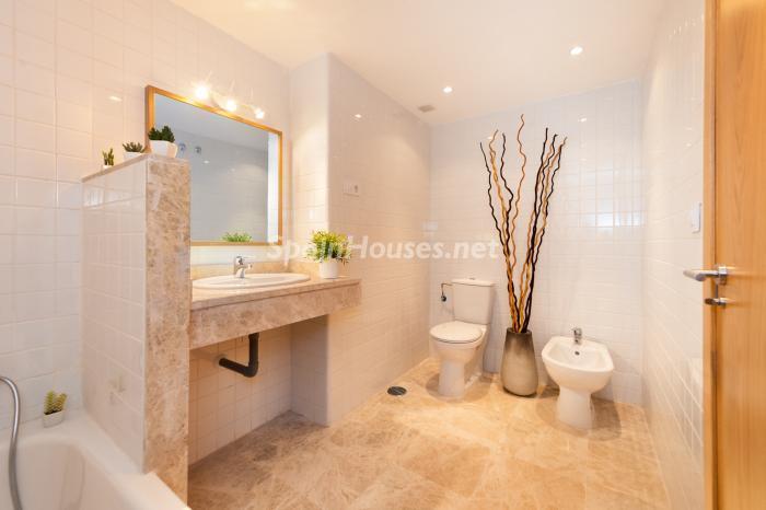 baño10 - Residencial Puerta del Mar: pisos nuevos en la mejor zona del centro de Málaga