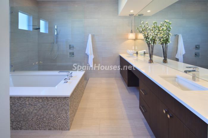 baño12 - Fantástica villa de diseño junto al mar en Costa Dorada, Tarragona