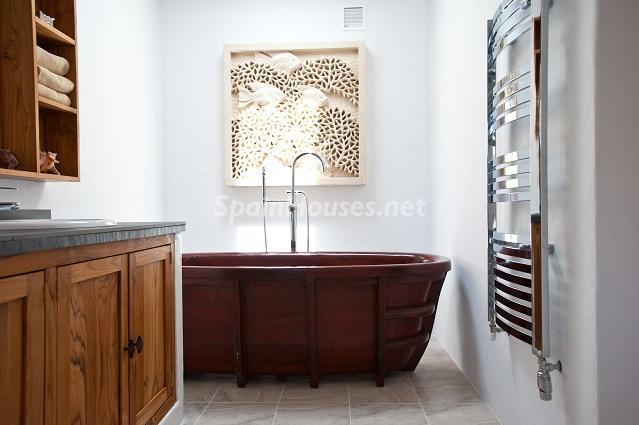 baño16 - Preciosa casa de reluciente blanco mediterráneo en la campiña ibicenca