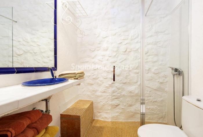 baño27 - Vacaciones en Mallorca: escapada rural a una encantadora casa de campo en Búger
