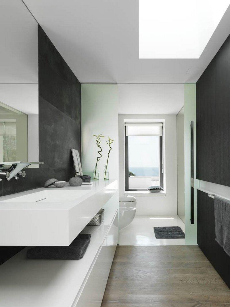 baño34 - Puro blanco sobre el mar en una espectacular casa en Almuñécar (Costa Tropical, Granada)