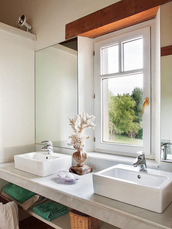 baño37 - Preciosa casa de campo en Cantabria: decoración contemporánea en clave rural