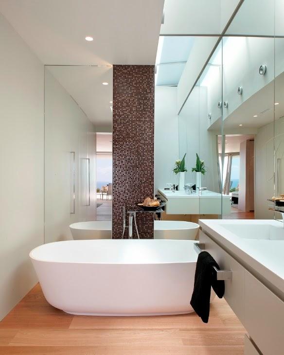 baño43 - Genial, luminosa y sofisticada casa junto al mar en la costa del Maresme (Barcelona)