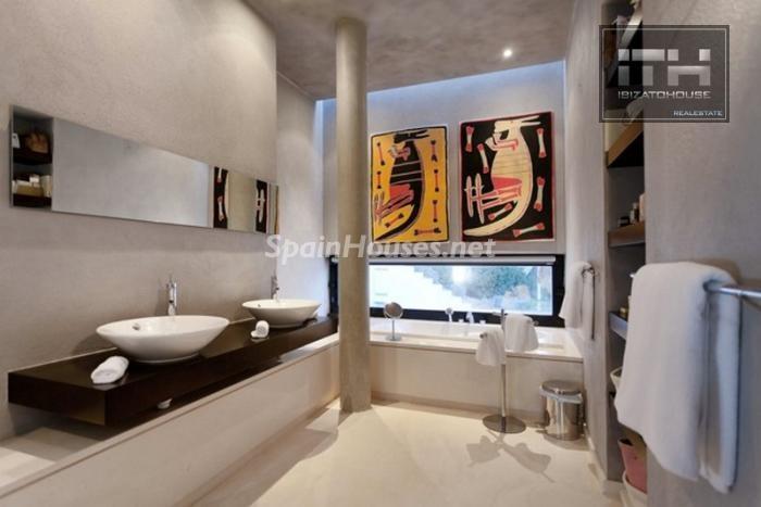 baño5 - Casa de la Semana: Espectacular villa de lujo en Ibiza (Baleares), la isla de los sueños