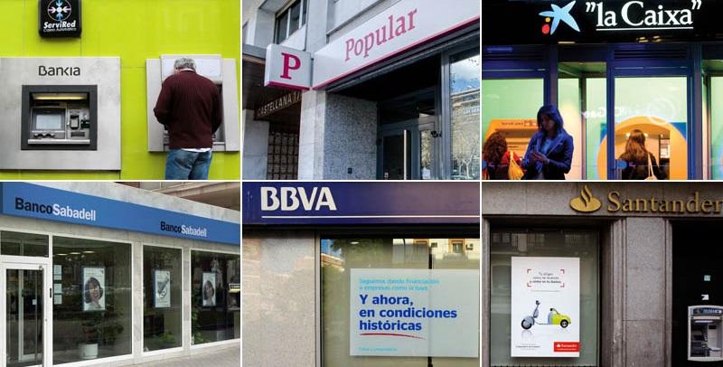 bancos clausulasuelo - Los bancos y las reclamaciones sobre las cláusulas suelo: casi 16.000 en un mes