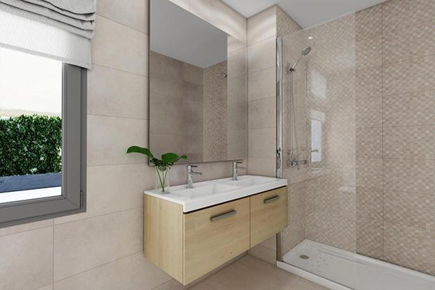 bano malaga - Este piso de lujo en Málaga te atrapará por su diseño moderno y atractivo