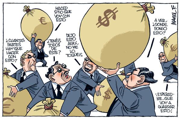 banqueros En busca del equilibrio - Economía se plantea limitar el banco malo al ladrillo