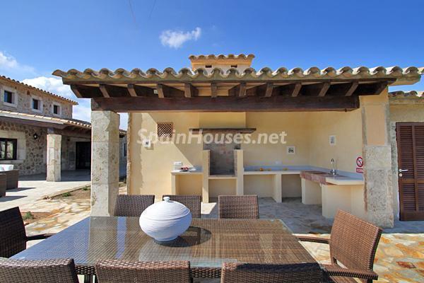 barbacoa - Vacaciones de lujo en una espectacular villa en Pollensa, Mallorca