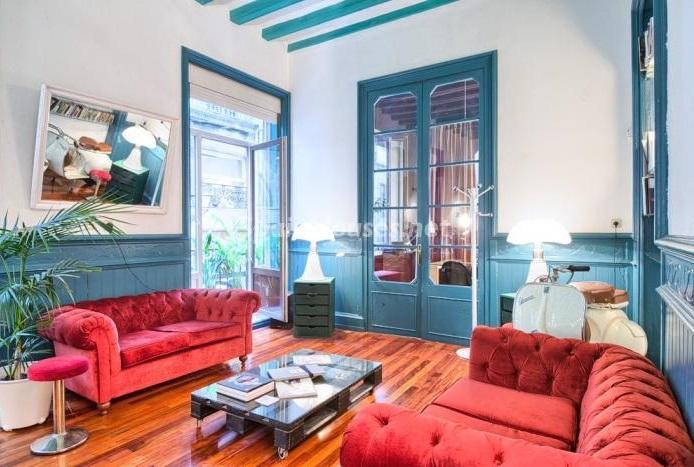 barcelona 7 - Rústico y urbano: 11 viviendas con cálidos rincones otoñales de sabor vintage