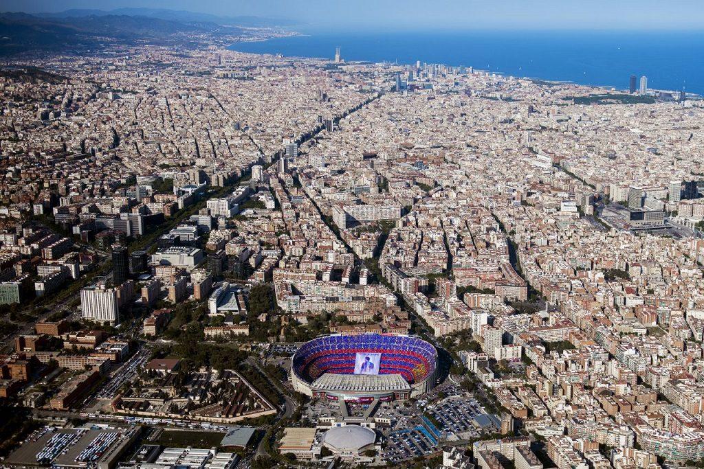 barcelona camnou 1024x683 - Barcelona, campeón también de precios en la Liga de la Vivienda. 2º Madrid, el Atlético UEFA