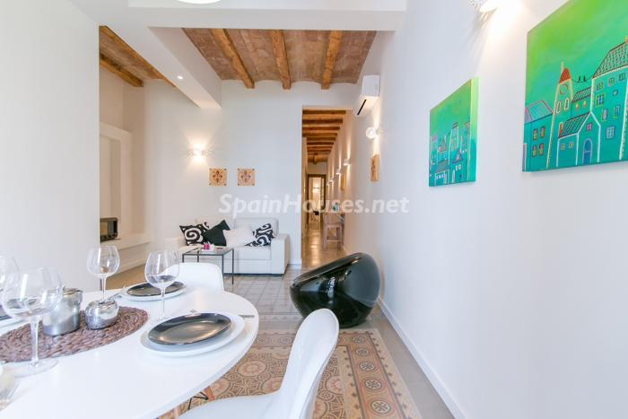 barcelona eixample - 15 pisos en alquiler con una decoración moderna y urbana o muy cerquita de la playa