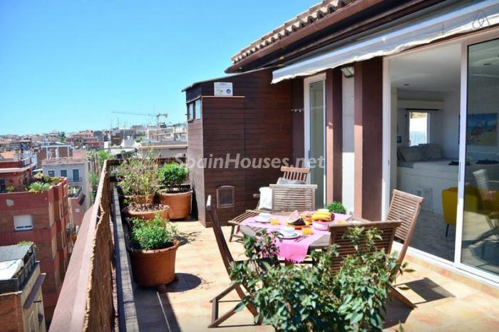 barcelona12 - Áticos: espectaculares terrazas con un bonito toque urbano o fantásticas vistas al mar