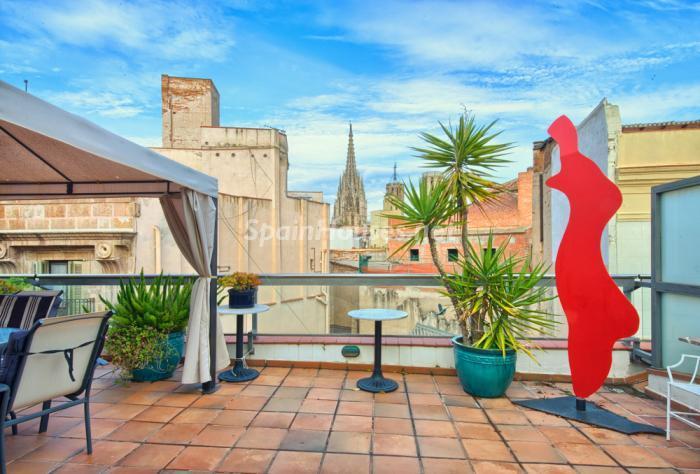barcelona3 - Áticos: espectaculares terrazas con un bonito toque urbano o fantásticas vistas al mar