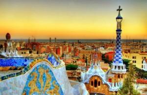 barcelona parc guell sunset 300x195 - Barcelona. El mejor rendimiento en el mercado inmobiliario de 2011