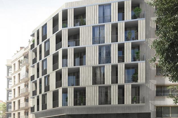 barrio piso lujo barcelona - Este apartamento de lujo en Barcelona lo tiene todo: amplitud, ambientes modernos y terraza privada