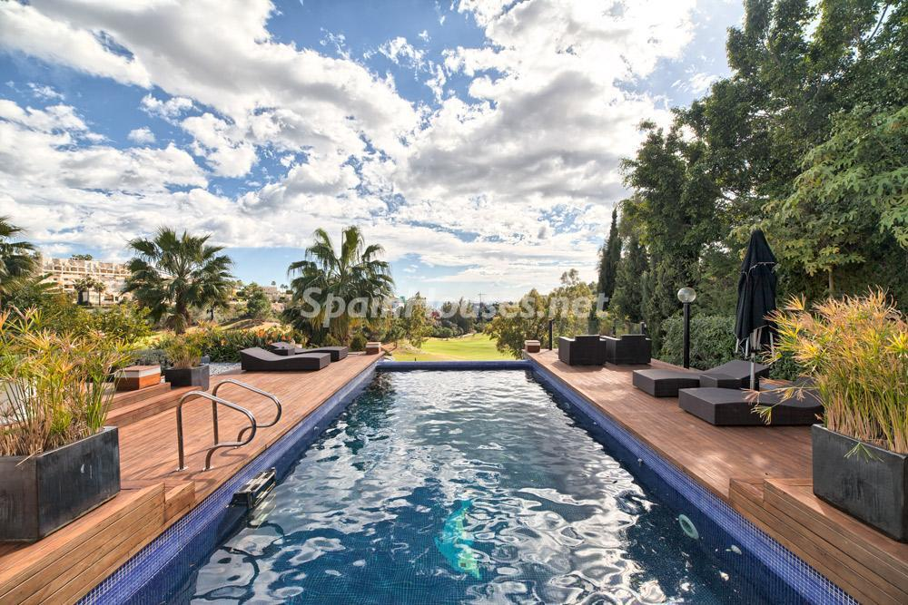 benahavis malaga 4 - Porche, piscina, hamaca o tumbona: 15 rincones de verano para el descanso y el relax