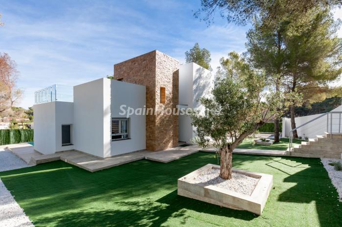 benissa alicante - Arquitectura contemporánea: 16 fantásticas casas de diseño moderno para estrenar