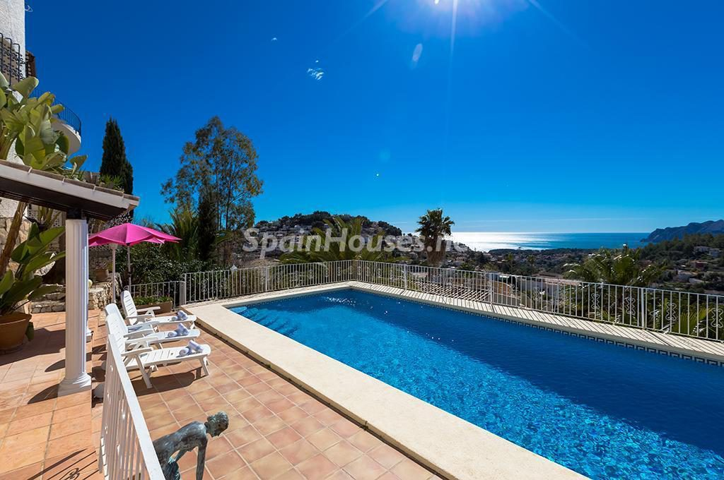 Villa en alquiler de vacaciones en Benissa (Costa Blanca, Alicante)