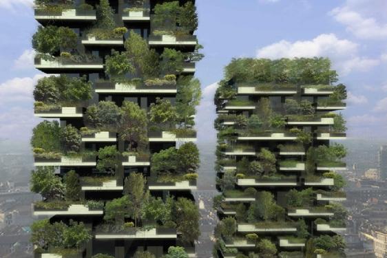 boeri studio - El bosque vertical de las 27 viviendas en Milán